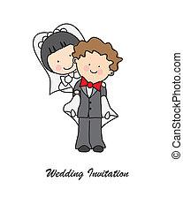 convite, casório