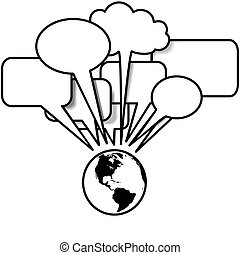 copyspace, oeste, blogs, conversas, fala, tweets, terra, bolha