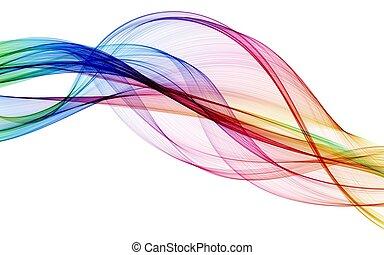 cor, abstratos, composição