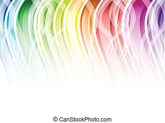cor, arco íris