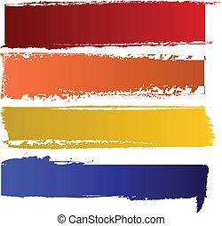 cor, bandeiras, vetorial, jogo