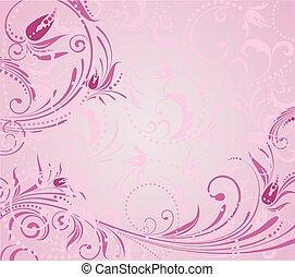 cor-de-rosa, grunge, fundo
