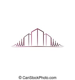 cor-de-rosa, logotipo, arquiteta