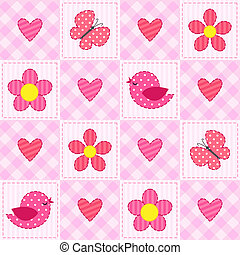 cor-de-rosa, padrão