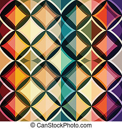 cor, padrão, seamless, mosaico