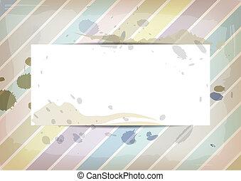 cor pastel, splatter, papel, tinta, branca