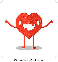coração, caricatura