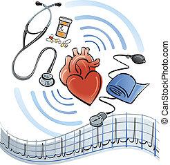 coração, cuidados de saúde