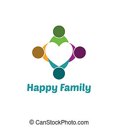 coração, família