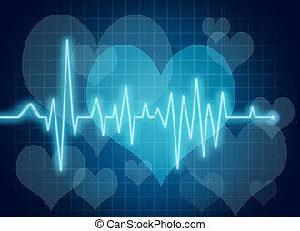 coração, símbolo, saúde