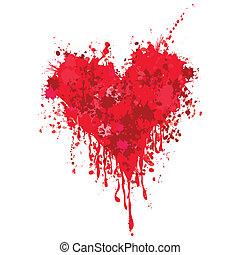 coração, sangue
