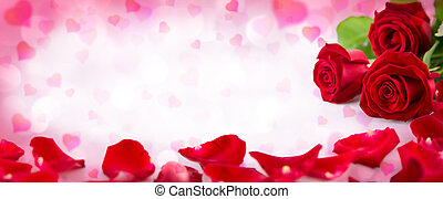 corações, valentine, convite