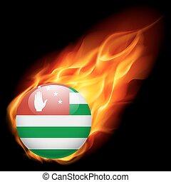cores, bandeira, emblema, abkhazia