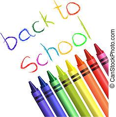 costas, escola, desenho