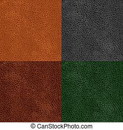 couro, padrão, seamless