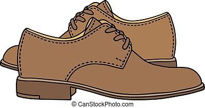 couro, sapatos, clássicas
