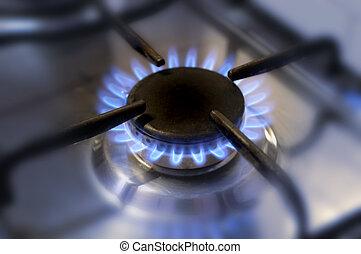 cozinha, gás, flame-2