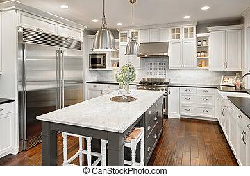 cozinha, repouso luxuoso