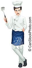 cozinheiro, macho