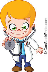 criança, doutor