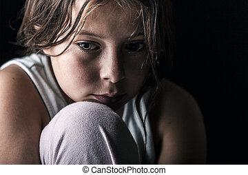 criança triste