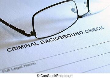 criminal, cheque, fundo