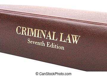 criminal, livro, lei