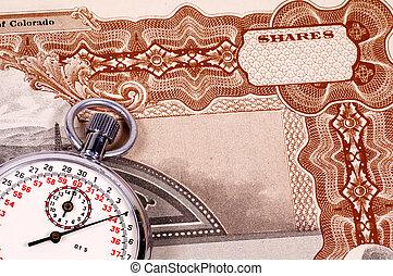 cronometrando, mercado