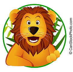 cute, leão