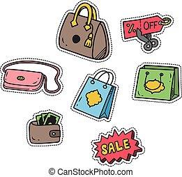 cute, themed, shopping, remendo