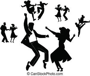 dança, partido