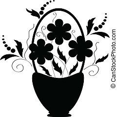 decoração, flores