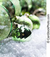 decoração natal, neve