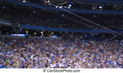 defocused., stadium., esportes