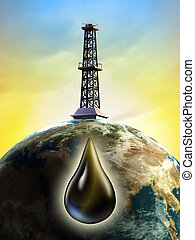 derrick óleo