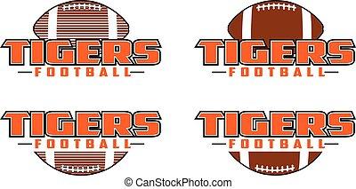 desenho, futebol, tigres