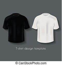 desenho, jogo, macho, camisetas, modelo