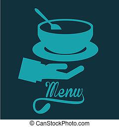 desenho, menu