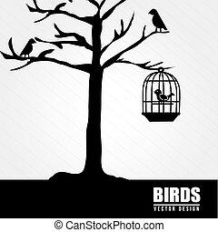 desenho pássaro