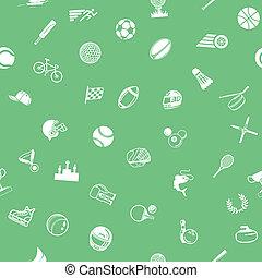 desporto, seamless, fundo, textura