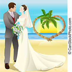 destino tropical, casamento praia