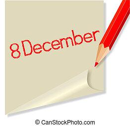 dezembro, 8