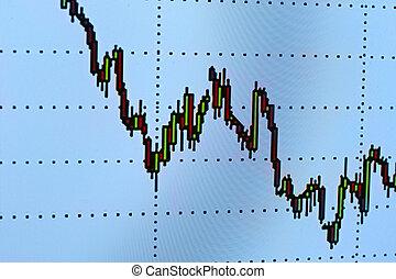 diagrama, gráfico, mapa, negócio, dinheiro, dados, finanças