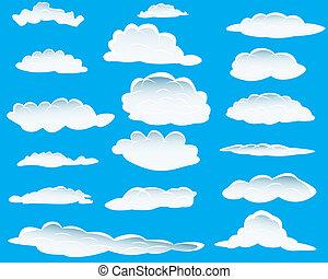 diferente, nuvens