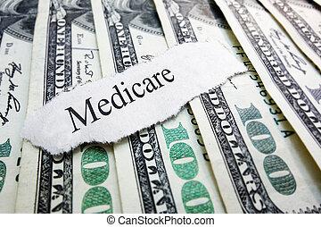 dinheiro, medicare