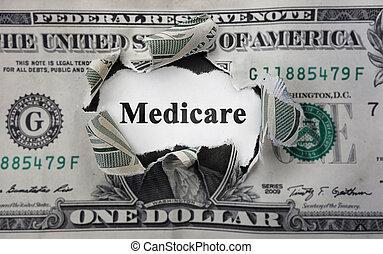 dinheiro, medicare, notícia