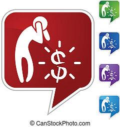 dinheiro, preocupação