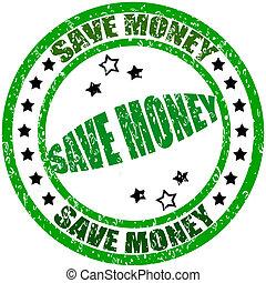 dinheiro, salvar