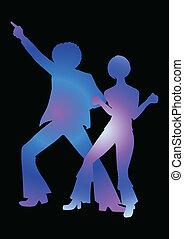 discoteca dançando