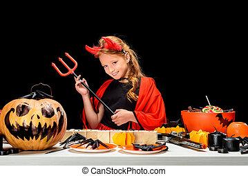doces, dia das bruxas, decorações, criança